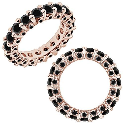 2.75 Carat GH Diamond Beautiful Italian Designer Full Eternity Band Bridal Ring (2.75 Ct Heart Diamond)
