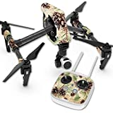 Skin For DJI Inspire 1 Quadcopter Drone – Pine Collage | MightySkins Protective, Durable, and Unique Vinyl Decal wrap cover | Easy To Apply, Remove, and Change Styles | Made in the USA