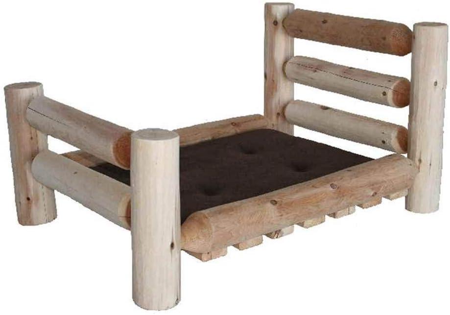 Lakeland Mills 307726-OG-92973-O-415582 Pet Bed, Medium 40 L x 30 W x 20 H 30 lbs. , Brown
