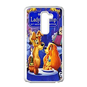 YESGG Lady and the tramp Case Cover For LG G2 Case