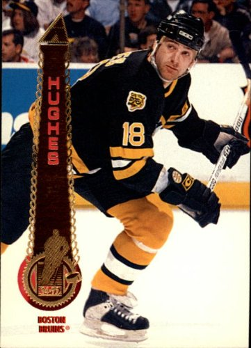 System 510 (1994 Pinnacle Hockey Card (1994-95) #510 Brent Hughes Near Mint/Mint)