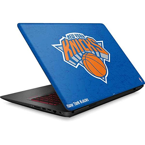 Skinit NBA New York Knicks Omen 15in Skin - New York Knicks Blue Primary Logo Design - Ultra Thin, Lightweight Vinyl Decal Protection by Skinit