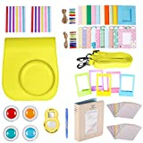 Neewer 10-in-1 Accessories Kit for Fujifilm Instax Mini 8/8s/9 Includes Camera Case/Album/Selfie Lens/4Colored Filters/5Film Table Frames/20 Wall Hanging Frame/40Border Stickers/2Corner Stickers/Pen