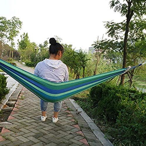 ShiXuan Hamaca de jardín Portátil de Viaje Colgante para Colgar en la Hamaca Silla giratoria Espesar Hamaca para Acampar al Aire Libre: Amazon.es: Jardín