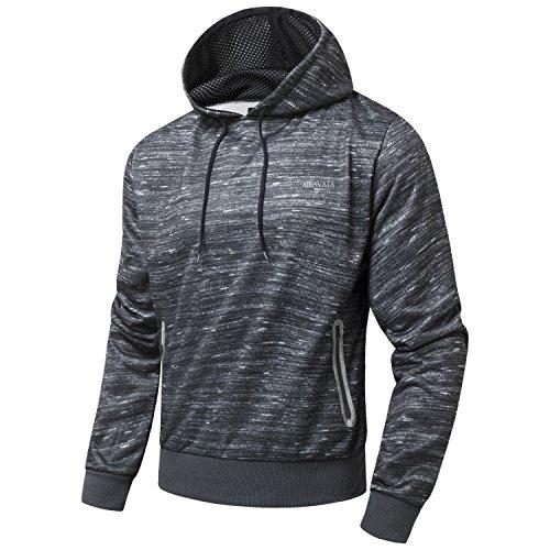 AIRAVATA - Sudadera con capucha - para hombre Charcoal Grey1
