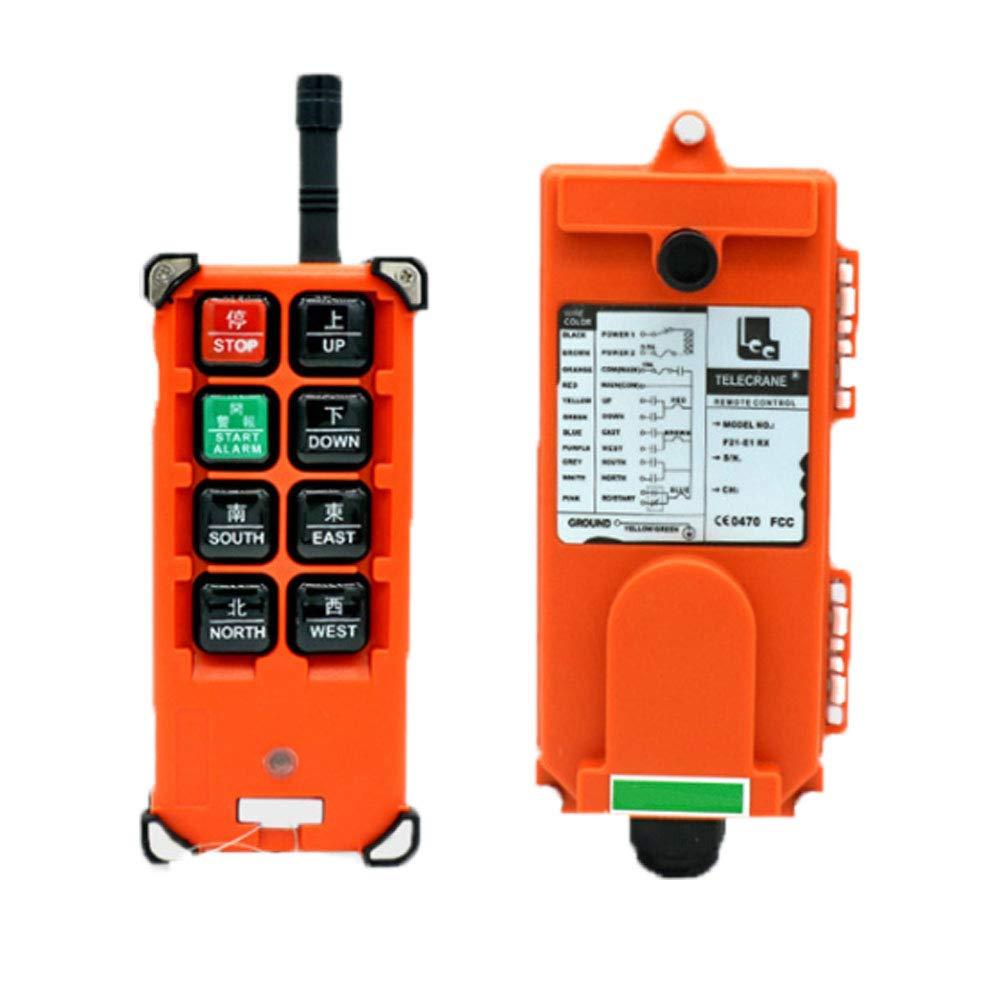 RESHY 12V 8key Transmitter Receiver Hoist Crane Radio Wireless Industrial Remote Control Wireless Crane Controller by RESHY