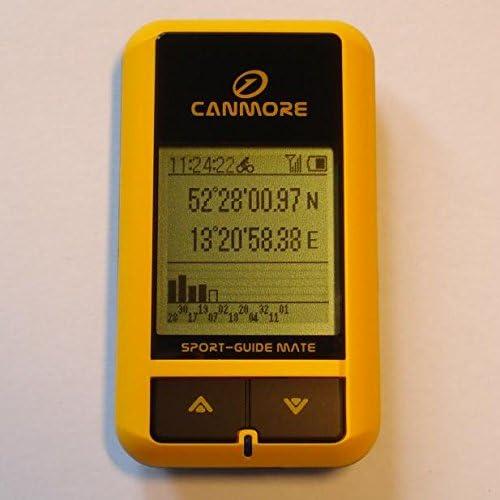GP-101 (amarillo) multifunción GPS Bicicleta Sport-tracker, buscador de posición, de datos de GPS bitácoras 200,000 GPS cariocas-marcador, indicador de altura, indicador de calorías, brújula digital,