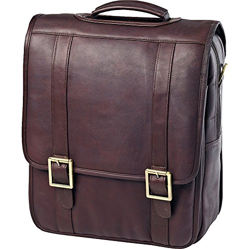 - Clava Vachetta Leather Upright Porthole Brief (Vachetta Cafe)