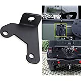 u-Box Jeep Spare Tire Solid Steel CB Antenna Mount for 2007-2016 Jeep Wrangler Jk Unlimited Rubicon Liberty Sahara 2/4 Door