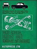 Ford Anglia/Prefect 100E 1953-62 Autobook