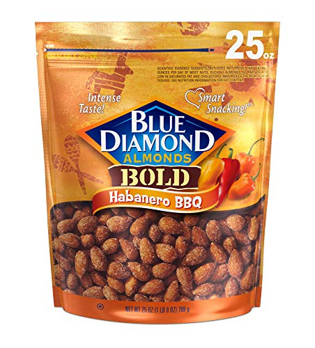 Blue Diamond Almonds , Habanero Bbq Habanero BBQ 1.56 Pound 25.0 Ounce