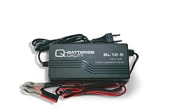 Cargador de baterías 12v 5A, para Todo Tipos de baterías ...