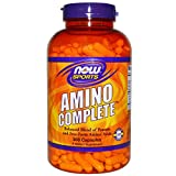 Cheap Now Foods Amino Complete, 360 Capsules (Pack of 2)
