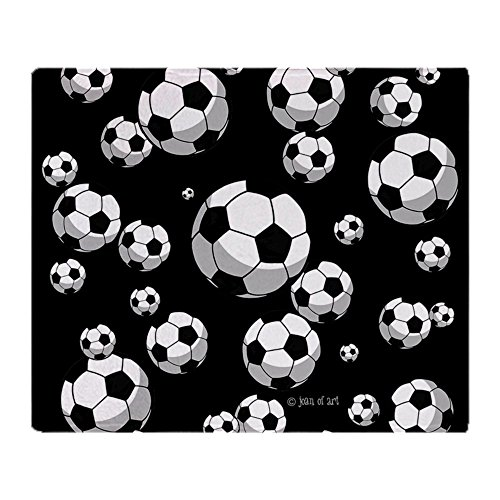 CafePress Soccer Soft Fleece Throw Blanket, 50