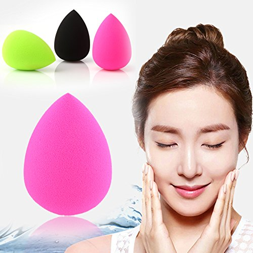 New 3pcs Pro Cosmetic Flawless Makeup Blender Foundation Puff Multi Shape (Dr Dread Costumes)