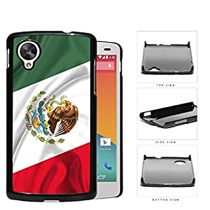 Mexican Flag With Wavy Crease Hard Plastic Snap On Cell Phone Case LG Nexus 5 by icecream design