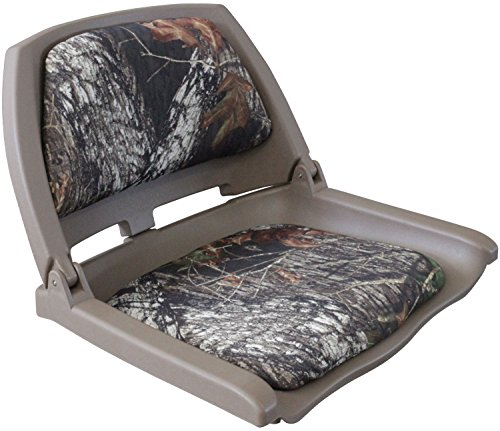 Leader Accessories New Camo Marine Folding Boat Seat ()