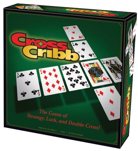 CrossCribb (Cribbage Board Game compare prices)