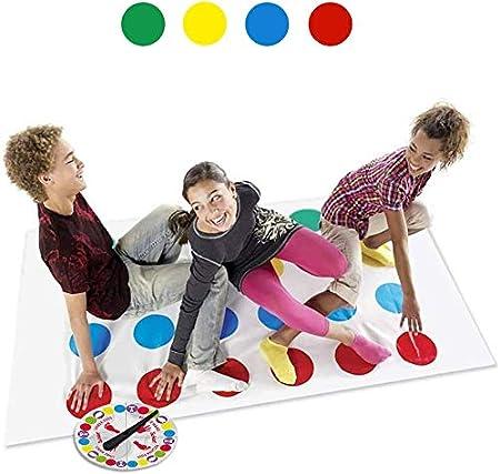 LOVEXIU Juego de Piso Familiar Tapete de Juego Tornado Tapete, Juegos de Mesa, Divertidos Juegos de Habilidad para niños y Adultos: Amazon.es: Juguetes y juegos