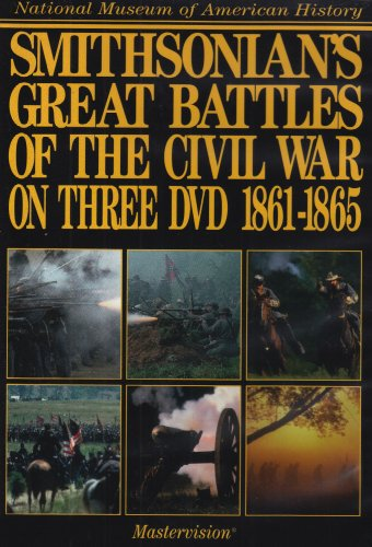 Smithsonian's Great Battles of the Civil War DVD on Three DVD 1861-1865 by PBS
