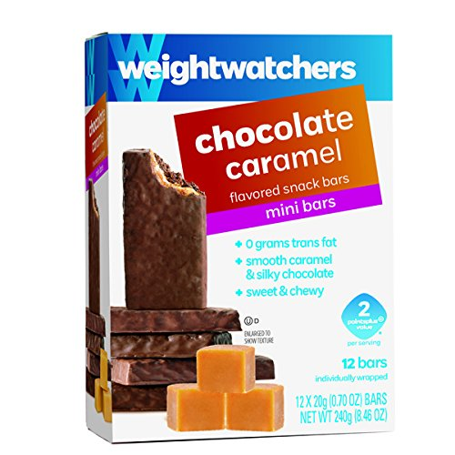 Weight Watchers 2015 Points Plus Chocolate Caramel Mini Snack Bars Rich Chewy Caramel Snack Bar