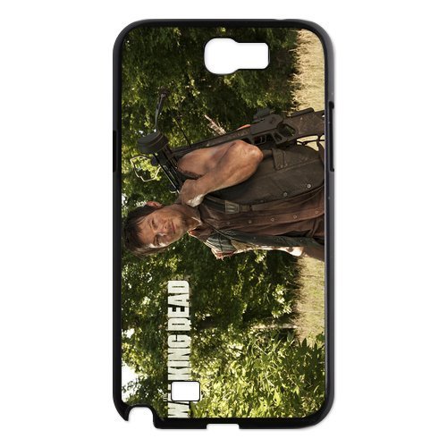 PhoneCaseDiy The Walking Dead Case Cover Skin For Samsung Galaxy Note 2 Plastic Cases N7100 Note2-AX50653