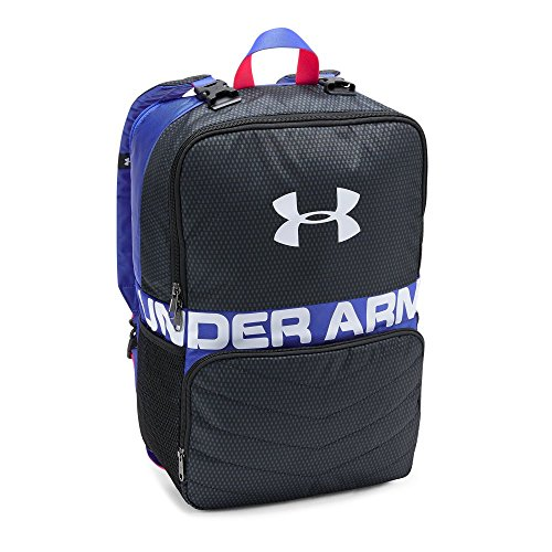 Under Armour Unisex Kids' Change-Up Backpack, Stealth Gray (008)/White, One Size
