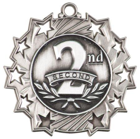 Trophies Footbal Medal Trophys (Trophy Cruch Custom Football Medal Medal and Ribbon - Mastery Series)