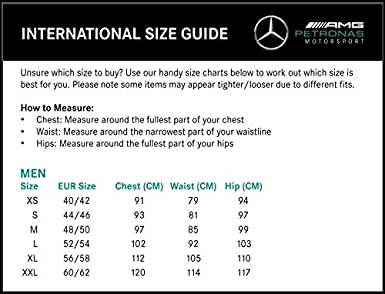 Polo /écurie Size: XL Noir Mercedes AMG Petronas 2020 Official Formula One