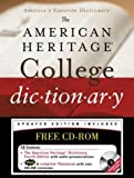 img - for The American Heritage College Dictionary, Fourth Edition with CD-ROM (2004-06-30) book / textbook / text book