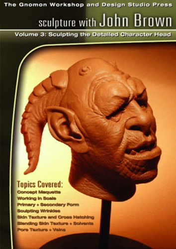 Sculpture 3: Sculpting the Detailed Character Head