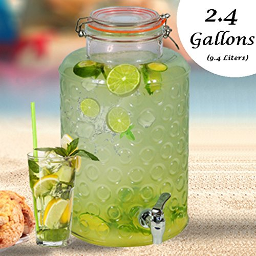 glass beverage dispenser glass - 7