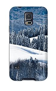 ZippyDoritEduard Fashion Protective Winter Case Cover For Galaxy S5