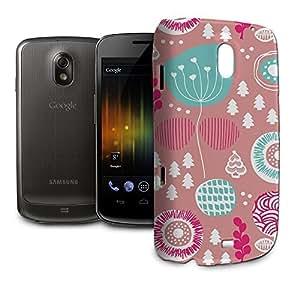 Phone Case For Samsung Galaxy Nexus i9250 - Winter Garden Pink Lightweight Cover