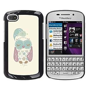 Dragon Case - FOR BlackBerry Q10 - it doesn't matter - Caja protectora de pl??stico duro de la cubierta Dise?¡Ào Slim Fit
