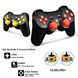2 Pack PS3 Controller Wireless, Dual Vibration