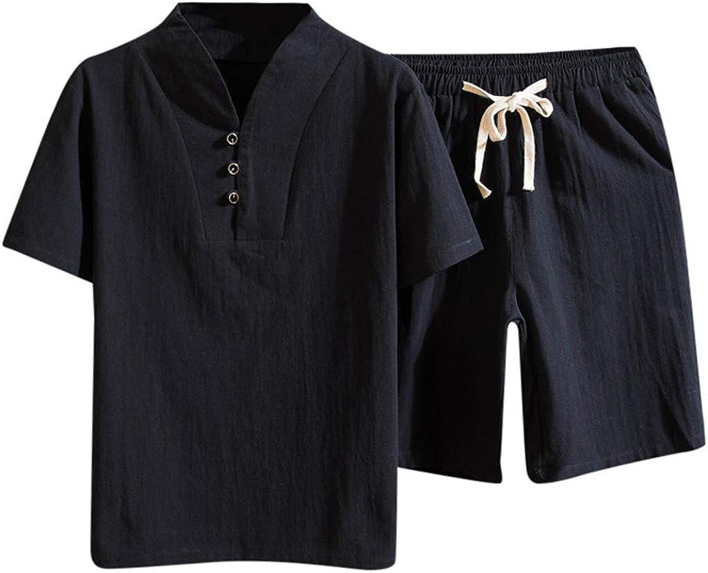 RRINSINS Men Casual Beach Pants Oversize Beach Fashion Printing Shorts