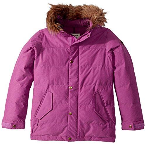 - Burton Youth Girls Traverse Jacket, Grapeseed, Large