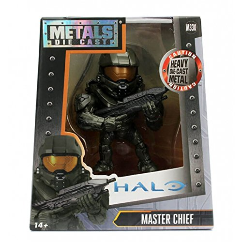 Metals Halo Master Chief Collectible Toy Figure (Chief Metal)