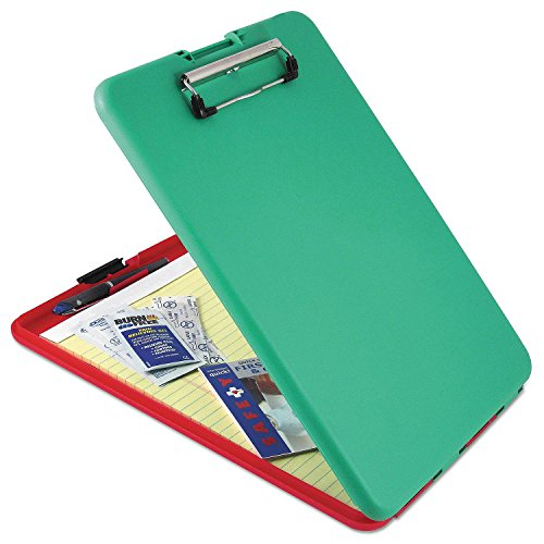 "Price comparison product image Product of Saunders SlimMate Show2Know Safety Organizer, 1/2 Clip Capacity, 9"" x 11 3/4, Red/Green - Desktop Organizers [Bulk Savings]"