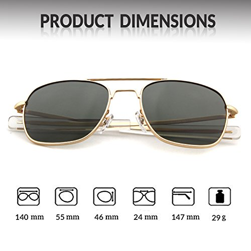 Gray Polarized Sunglasses Protection Dark 100 ADEWU Men Frame for UV400 Gold Lens Sports Goggles Outdoor Pnqf1A1px