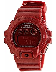 Casio G-Shock Red Digital Dial Red Resin Multi Quartz Male Watch GMDS6900SM-4