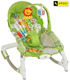 Zest 4 Toyz Jouet Portable Rocker Bouncer With Selectable Vibrator Mode And Toys