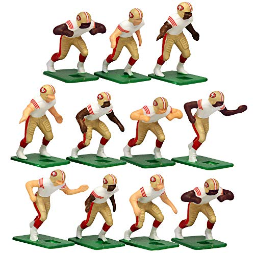San Francisco 49ers Away Jersey NFL Action Figure Set -