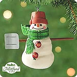 QX8584 Max The Snowman Of Mitford 2000 Hallmark Keepsake Ornament