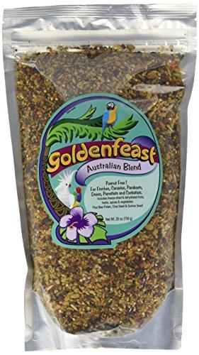Goldenfeast Australian Blend 25oz Bird Food