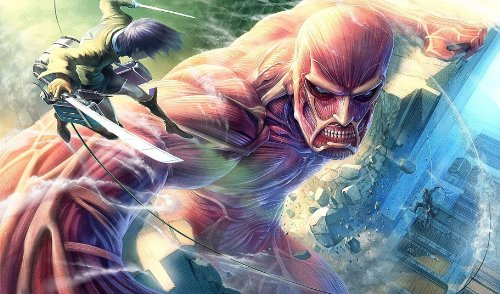 (Attack on Titan Monster Playmat)