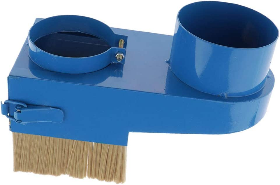 Shiwaki Spindle Dust Shoe Cover Cleaner for CNC Router Spindle Motor 100mm Blue, Diameter-65//70//75//80//85//90//100//105//125mm
