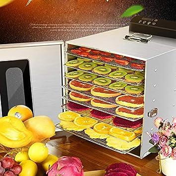 Secadora de alimentos, Deshidratador De Alimentos Eléctrico Máquina De Conservación De Alimentos De 8 Capas Para Carne O Carne Seca, Secadora De Frutas Y ...