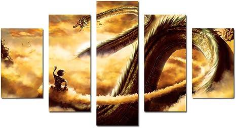 "12/""x22/"" Goku Japan Anime HD Canvas Print Painting Home Decor room Wall  Picture"